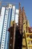建筑迪拜 免版税库存图片