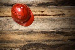 建筑防护安全帽 免版税库存照片
