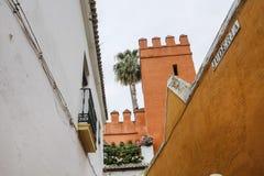 建筑风格在西班牙 免版税库存图片