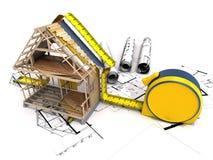 建筑结构 库存照片