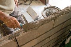 建筑水泥墙壁 免版税库存照片