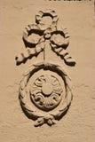 建筑细节在琥珀,德国 库存图片