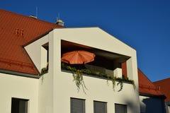 建筑细节在琥珀,德国 免版税图库摄影