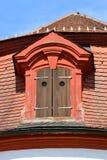 建筑细节在琥珀,德国 免版税库存照片