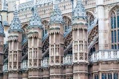 建筑细节,伦敦市中心 免版税库存照片