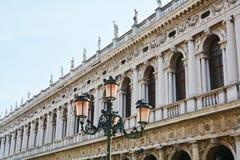建筑细节,威尼斯,意大利 图库摄影