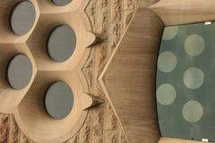 建筑细节,巴塞罗那 免版税库存照片