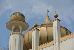 建筑细节-苏丹Mahmud清真寺在瓜拉Lipis,彭亨 免版税库存图片