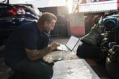 建筑总计划草稿图纸男性概念 图库摄影