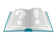 答复书问题 免版税库存图片