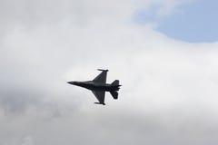 策尔特韦格,奥地利- 2011年7月02日:航空器,洛克西德・马丁F-16 免版税库存图片