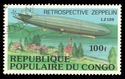 策帕林飞艇LZ 120 库存图片