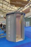 筛选的人扫描器 库存照片