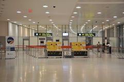 筛选问题的皮尔逊机场的安全 库存图片