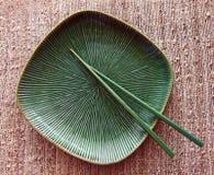 筷子牌照 图库摄影