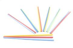 筷子的颜色 免版税库存图片