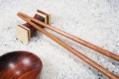 筷子米 免版税库存照片