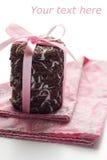筹码可口巧克力的曲奇饼 免版税图库摄影