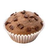 筹码巧克力松饼 免版税库存照片