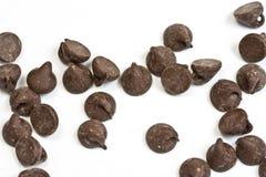 筹码巧克力 免版税库存图片