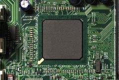 筹码微处理器 免版税图库摄影