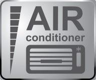 签署自动服务,汽车固定标志空调器服务 钞票 免版税库存图片
