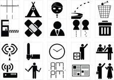 标志系统象 免版税库存图片