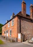 简・奥斯丁议院博物馆在Chawton汉普郡东南Engl 库存图片