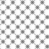 简单和优美的花卉样式设计模板,典雅的lineart商标设计,传染媒介象例证 现代样式 免版税库存图片