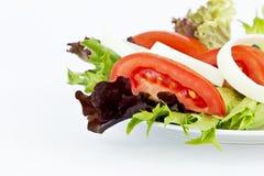 简单的健康沙拉 库存图片