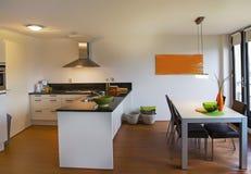 简单的公寓 免版税图库摄影