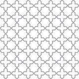 简单的几何无缝的向量纹理 免版税库存图片