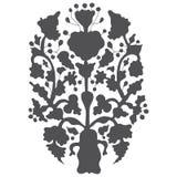 简单的历史装饰装饰品 老乌克兰种族 免版税库存照片