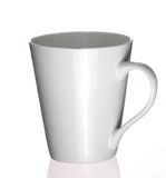 简单的咖啡杯 免版税库存图片