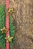 简单的圣诞节背景 免版税库存图片