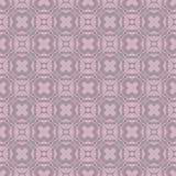 简单的大胆的花设计在洋红色口气的无缝的样式背景例证 库存例证