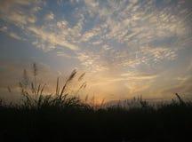 简单的天空在亚洲 库存图片