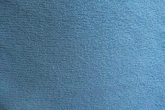 简单的天蓝色织品表面  图库摄影