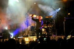 简单的头脑音乐会在佛罗伦萨 免版税库存照片
