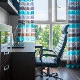 简单的家庭办公室 免版税图库摄影