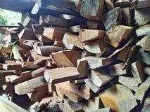 简单的木头 库存图片
