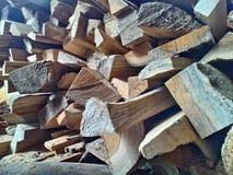 简单的木头 图库摄影