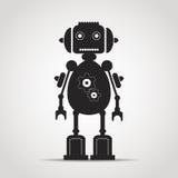 简单的机器人 库存照片