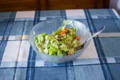 简单的沙拉的照片 免版税库存图片