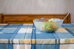 简单的沙拉的照片 免版税库存照片