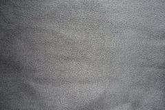 简单的灰色人为绒面革表面  免版税库存照片