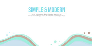 简单的现代设计摘要背景倒栽跳水网站 免版税库存图片