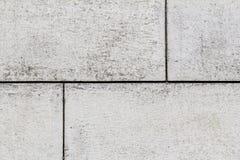 简单的白色石结构 库存照片