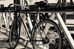简单的自行车 库存图片
