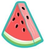 简单的西瓜三角,传染媒介象 皇族释放例证